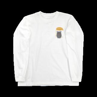 虚無太郎商店のねずみ Long sleeve T-shirts