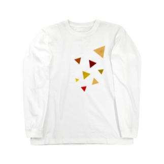 虚無太郎商店の落葉 Long sleeve T-shirts