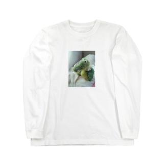 わにのすけ Long sleeve T-shirts