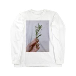 green Long sleeve T-shirts