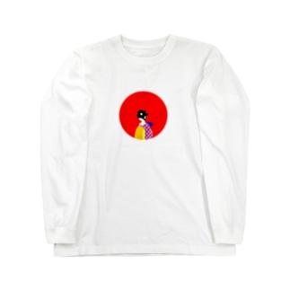 ミッドナイトクラブのシャツ姫救出絵巻 Long sleeve T-shirts