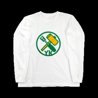 原田専門家のパ紋No.3402 YK  Long sleeve T-shirts