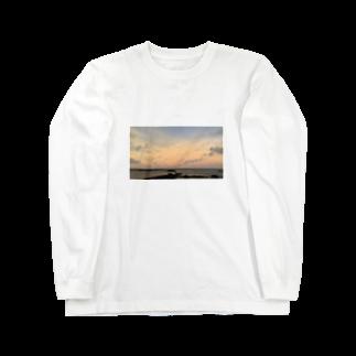 さっかりんの8 island sunset  Long sleeve T-shirts