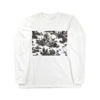 トワルドジュイ Toile de Jouy Long sleeve T-shirts