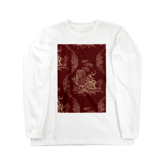 J. Jeffery Print Galleryのトワルドジュイ Toile de Jouy Long sleeve T-shirts