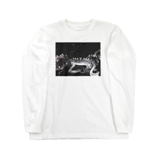 0608knynのモノトーン Long sleeve T-shirts