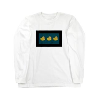 higuのあひるくん Long sleeve T-shirts