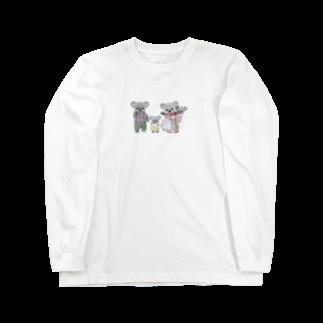 taisiboumoyasouのコアラ Long sleeve T-shirts