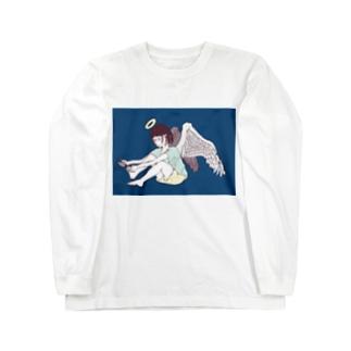爪切り天使 Long sleeve T-shirts