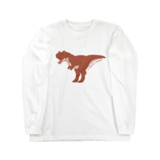 カルノタウルス Long sleeve T-shirts