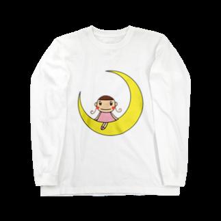 もちまるのもちまる Long sleeve T-shirts