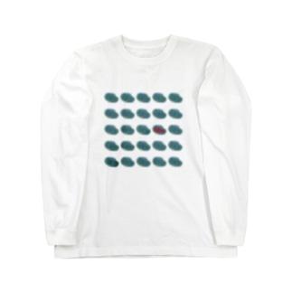 さかなどり。 Long sleeve T-shirts