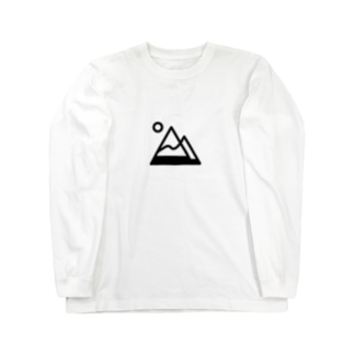 tk64358の山simple Long sleeve T-shirts