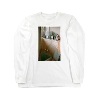 Shogo Hirokiのじいちゃん家の風呂 Long sleeve T-shirts