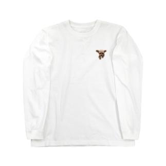 hiramechanのトイプーひらめ Long sleeve T-shirts
