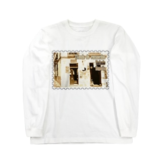 FUCHSGOLDのスペイン:トレドの土産物店★白地の製品だけご利用ください!! Spain: Souvenier shop in Toledo★Recommend for white base products only !!  Long sleeve T-shirts