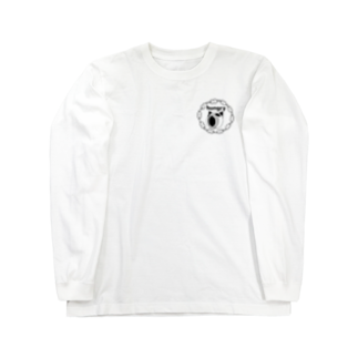 くまくまの hungry Long sleeve T-shirts