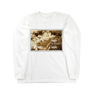 FUCHSGOLDのスペイン:セゴビア郊外の村★白地の製品だけご利用ください!! Spain: village in Segovia★Recommend for white base products only !! Long sleeve T-shirts
