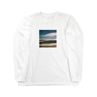 Shogo Hirokiの鉄塔 Long sleeve T-shirts