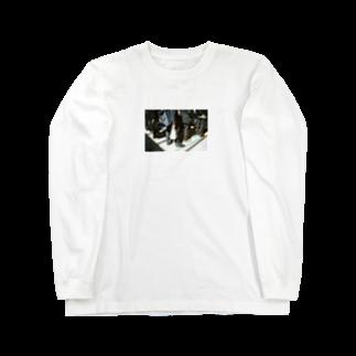 Shogo Hirokiの通勤ラッシュ Long sleeve T-shirts