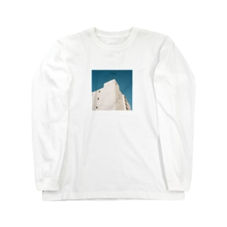 Shogo Hirokiのbuilding Long sleeve T-shirts