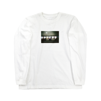 Shogo Hirokiの自販機 Long sleeve T-shirts