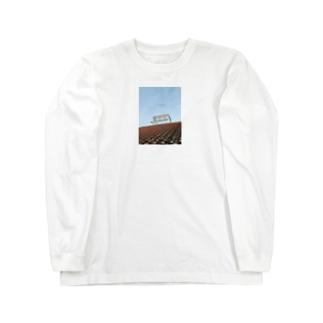 Shogo Hirokiのrooftop Long sleeve T-shirts
