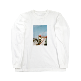 Shogo Hirokiのapartment Long sleeve T-shirts