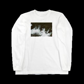 Shogo Hirokiの川 Long sleeve T-shirts