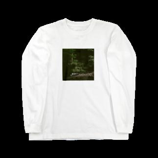 Shogo Hirokiの林 Long sleeve T-shirts
