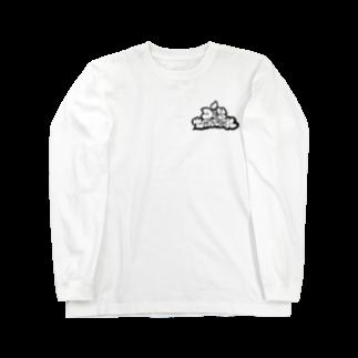 Distortionの歪 Long sleeve T-shirts