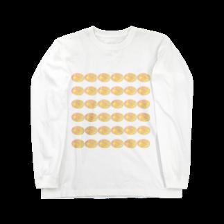 水草のスーパーオレンジ玉 Long sleeve T-shirts