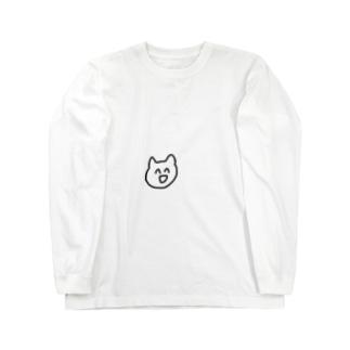 s__uuumのねこさん Long sleeve T-shirts