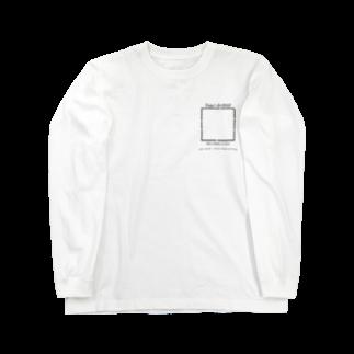 ピザ君🍕のToday's BADGE ! Long sleeve T-shirts