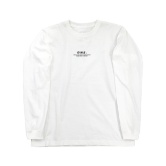 ONE. Long sleeve T-shirts