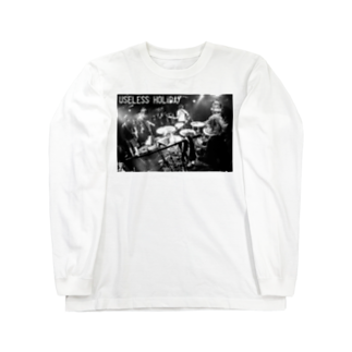 USELESS_HOLiDAYのライブフォト Long sleeve T-shirts