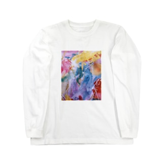 palette.1(渋めver.) Long sleeve T-shirts