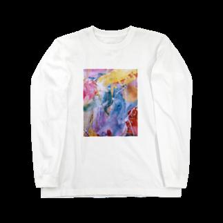 lalasandiegoのpalette.1(渋めver.) Long sleeve T-shirts