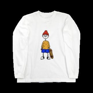 ___Ru____のスケボーBOY Long sleeve T-shirts