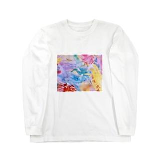 palette.2(横ver.) Long sleeve T-shirts