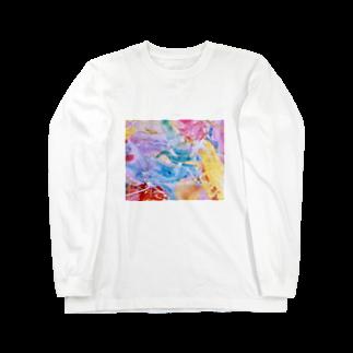 lalasandiegoのpalette.2(横ver.) Long sleeve T-shirts