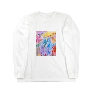palette.2(縦ver.) Long sleeve T-shirts