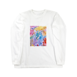 lalasandiegoのpalette.2(縦ver.) Long sleeve T-shirts