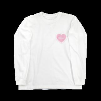 mero46のハート Long sleeve T-shirts