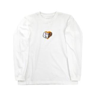 仲良しピノシェリ Long sleeve T-shirts