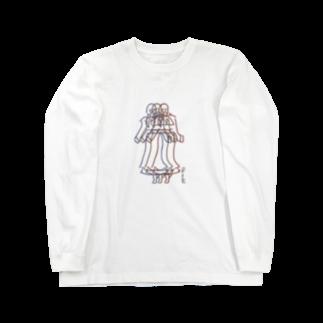 Sugishita moanaのlikemodel Long sleeve T-shirts