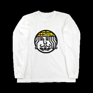 原田専門家のパ紋No.3406 FILO Long sleeve T-shirts