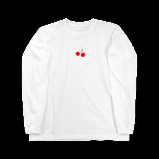 KanAのさくらんぼ Long sleeve T-shirts