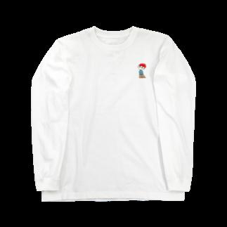 ぬっの赤髪 Long sleeve T-shirts