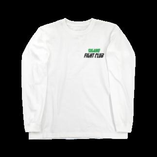 竹下キノの店の巣鴨ファイトクラブ Long sleeve T-shirts